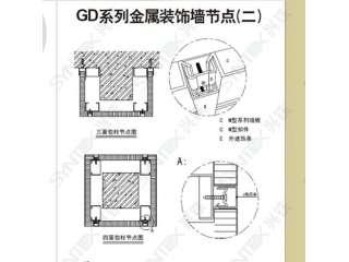 GD系列金属装饰墙2