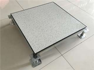 PVC防静电地板(黑花)